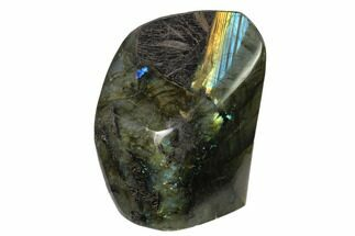 "4.4"" Flashy Polished Labradorite Free Form - Madagascar For Sale, #136256"