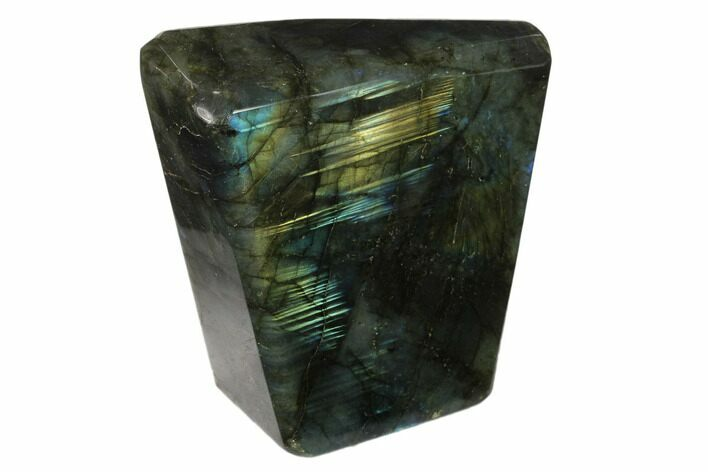 "3.5"" Flashy Polished Labradorite Free Form - Madagascar"