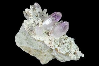 Quartz var. Amethyst - Fossils For Sale - #136995