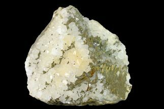 "5.4"" Quartz Crystal Cluster with Chalcopyrite - Morocco For Sale, #137138"