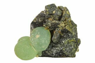 "Buy 2.5"" Botryoidal Prehnite and Epidote Association - Mali, Africa - #137533"