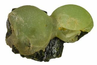 "1.9"" Botryoidal Prehnite and Epidote Association - Mali, Africa For Sale, #137519"
