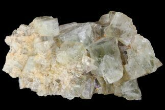 "2.25"" Light-Green, Cubic Fluorite Crystal Cluster - Morocco For Sale, #138239"