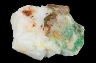 Beryl var. Emerald & Calcite - Fossils For Sale - #138915