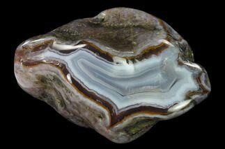 "2.9"" Polished Banded Agate - Karouchen, Morocco For Sale, #139631"