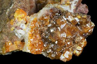 Wulfenite & Calcite - Fossils For Sale - #139791