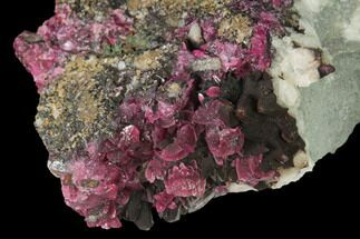 "2.9"" Roselite Crystal Clusters and Calcite on dolomite - Morocco For Sale, #141662"