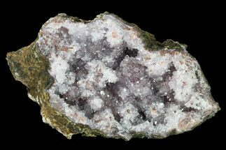 "Buy 7.1"" Quartz Crystal Geode Section - Morocco - #141778"