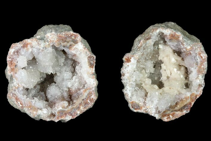 "1.35"" Keokuk ""Red Rind"" Geode with Dolomite - Iowa"