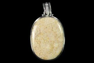 Buy 20 Million Year Old Fossil Coral Pendant - Indonesia - #143695