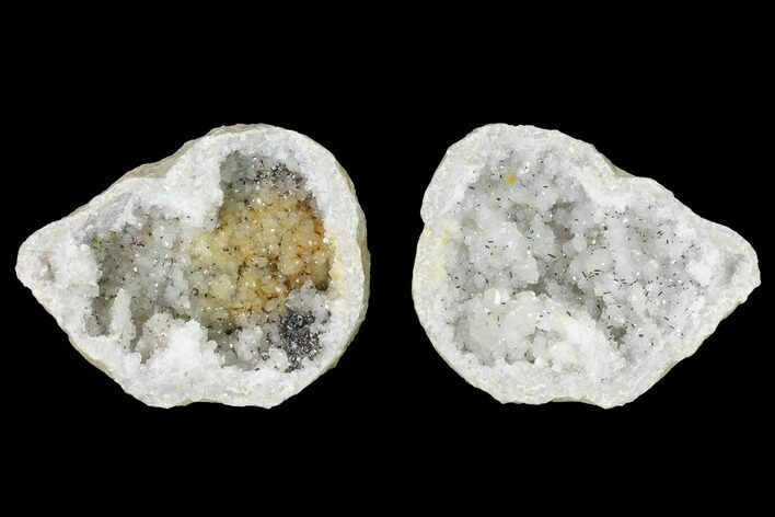 "3.3"" Keokuk Quartz Geode with Calcite - Iowa"
