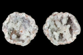 "1.5"" Keokuk Quartz Geode with Bladed Barite - Iowa For Sale, #144692"