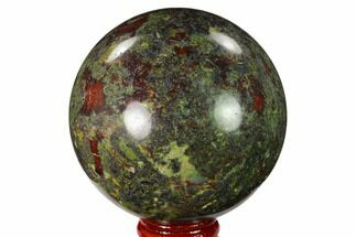 "Buy 2.9"" Polished Dragon's Blood Jasper Sphere - South Africa - #146098"