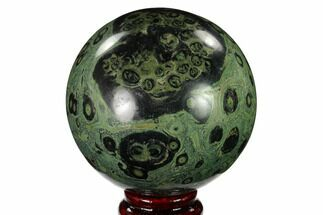 "Buy 3.4"" Polished Kambaba Jasper Sphere - Madagascar - #146065"