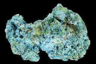 "Buy 2.3"" Light-Blue Shattuckite with Malachite - Tantara Mine, Congo - #146722"