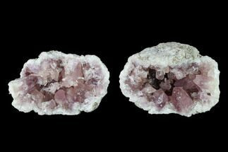 "2.85"" Sparkly, Pink Amethyst Geode - Argentina For Sale, #147938"