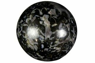 "1.75"" Polished, Indigo Gabbro Spheres For Sale, #149147"