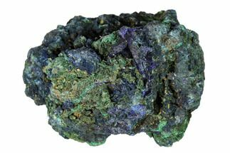 "Buy 2.4"" Sparkling Azurite Crystals with Malachite - Laos - #149317"