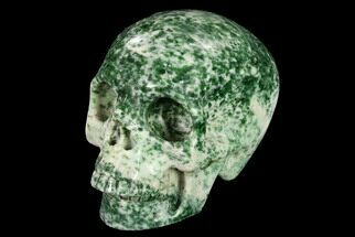 "3"" Realistic, Polished Hamine Jasper Skull For Sale, #151235"