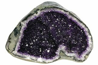 "Buy 13.7"" Top Quality, Dark Amethyst Geode - Uruguay - #151318"