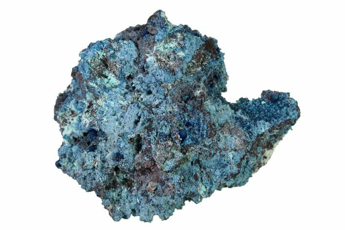 "1.4"" Shattuckite, Chrysocolla and Ajoite Association - Mexico"