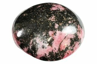 Rhodonite with Manganese Oxide - Fossils For Sale - #158682