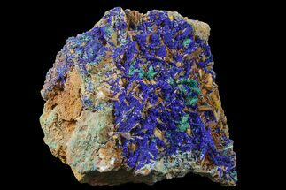 Azurite, Malachite & Barite - Fossils For Sale - #159315