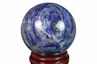 "Buy 4"" Polished Sodalite Sphere  - #161353"