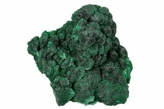 "Buy 3.2"" Silky, Botryoidal Malachite Formation - Shilu Mine, China - #161518"