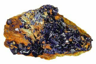 Azurite  - Fossils For Sale - #162597