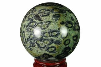 "Buy 3.7"" Polished Kambaba Jasper Sphere - Madagascar - #159649"