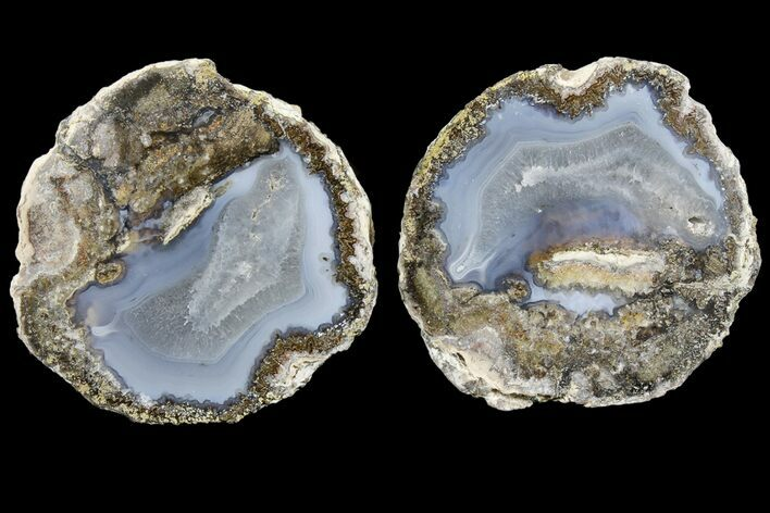 "2.7"" Las Choyas ""Coconut"" Geode with Quartz & Agate - Mexico"