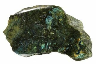 "9"" Wide, Single Side Polished Labradorite - Madagascar For Sale, #154217"