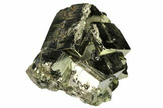 "Buy 2.35"" Cubic Pyrite Crystal Cluster with Sphalerite - Peru - #167716"