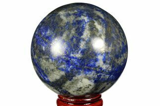 "2.3"" Polished Lapis Lazuli Sphere - Pakistan For Sale, #170858"