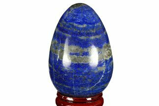 "2.3"" Polished Lapis Lazuli Egg - Pakistan For Sale, #170867"