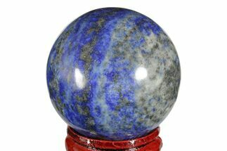 "Buy 1.55"" Polished Lapis Lazuli Sphere - Pakistan - #170806"