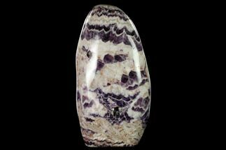 "10.3""  Tall, Free-Standing, Polished Chevron Amethyst - Brazil For Sale, #170633"