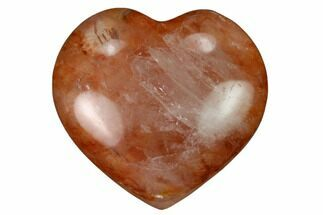 Buy Small, Polished Hematoid Quartz Hearts - #172276