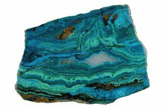 Chrysocolla, Malachite & Quartz Chalcedony - Fossils For Sale - #175530