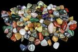 Bulk Mixed Polished Minerals - 16 ounces (~ 30pc.) - Photo 4