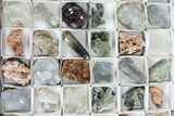 Mixed Indian Mineral & Crystal Flats - 54 Pieces - Photo 9