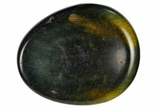 "2"" Polished Blue Tiger's Eye Worry Stone"