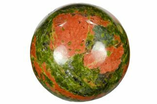 "1.2"" Polished Unakite Sphere"