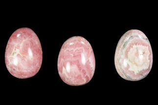 ".7"" Polished Rhodochrosite Eggs"