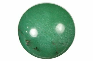 ".9"" Polished Green Aventurine Sphere"