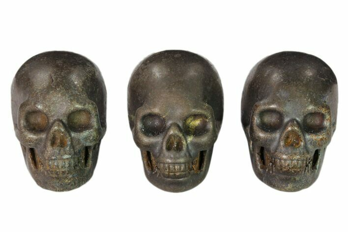 "1.5"" Polished Pyrite Skulls - Photo 1"