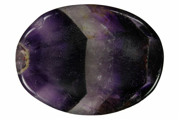 "Amethyst Worry Stones - 1.5"" Size - Photo 1"
