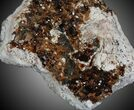 "3.2"" Dark Spessartine Garnet Cluster - China - #32574-1"
