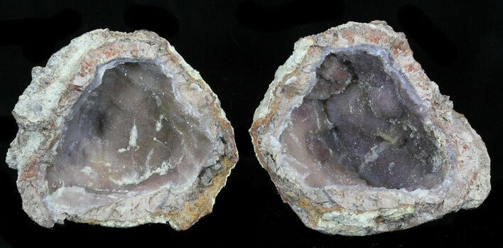 "3.4"" Crystal Filled Dugway Geode"